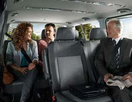 It is convenient to park and fly with reservations for airport valet parking and self-parking.